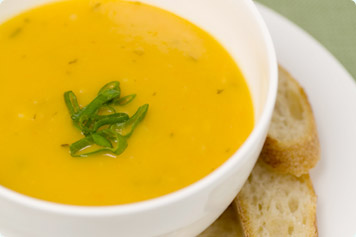 Sweet Potato And Pumpkin Soup Recipe
